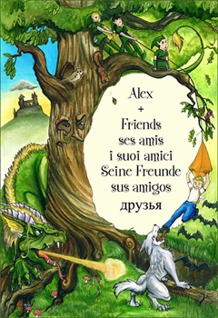 Alex and Friends picture book cover